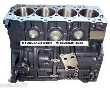 BLOQUE MOTOR COMPLETO PARA HYUNDAI H1 H100 2.5TD D4BH Y MITSUBISHI MONTERO 4D56