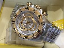 1877 Invicta Reserve 52mm Excursion Touring Quartz Chronograph SS Bracelet Watch