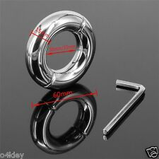 NEW Stainless Steel Penis Stretcher Metal Ball Enhancer Heavy Weight 150g