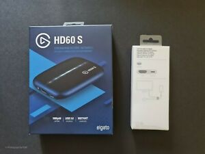 Elgato Game Capture HD60 S and Apple Lightning Av Adapter