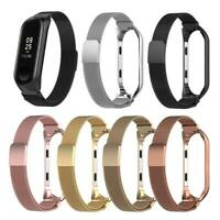 For Xiaomi MI Band 4 Bracelet Strap Milanese Loop Stainless Steel Wrist Band