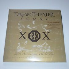 DREAM THEATER - SCORE : 20th ANNIVERSARY WORLD TOUR - 4LPs NEW & SEALED