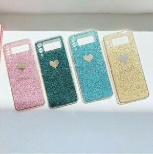 For Samsung Galaxy Z Flip 3 5G Luxury Bling Fashion Plating Frame Cover Case