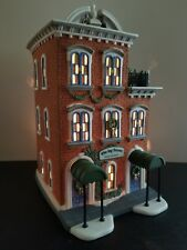 "Department 56 Christmas in the City Heritage ""Ivy Terrace Apartments"" 5887-4"