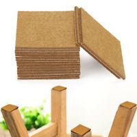 20X Square protecteur meuble feutres bois chêne protection plancher stratifié SV