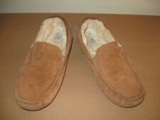 UGG Ascot suede Moccasin Slippers Chestnut 10 mens 43 Euro slip on rubber sole