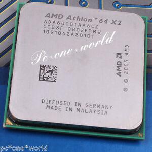 100% OK AMD Athlon 64 X2 6000+ 3 GHz Dual-Core Processor CPU AM2