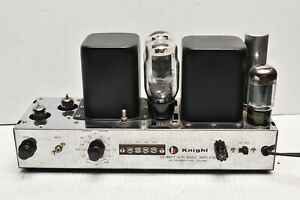vintage Allied Knight KT66 Tube 25 WATT Basic Amp Amplifier TESTED WORKING