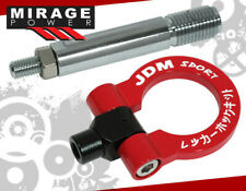 Jdm Sport For Scion Tc 2011-2013 Heavy Duty Steel Red White Front Tow Hook Kit (Fits: Scion tC)