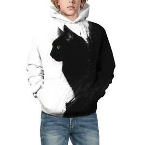 Kids Children 3D Print Hoodie Boy Hooded Jacket Jumper Sweatshirt Casual Clothes