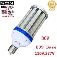 80W LED Corn Bulb Light Replace 400W ED37 Metal Halide Lamp E39 Mogul Base