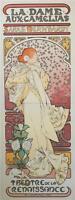Mucha Foundation La Dame Aux Camelias Museum Edition 2 Sheet Lithograph S2 Art