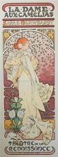 Mucha Foundation La Dame Aux Camelias Museum Edition 3 Sheet Lithograph S2 Art