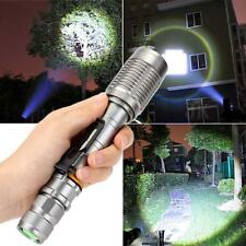 Puissant 10000Lm XML-T6 LED Zoomable torche Lampe Flashlight Torch Lamp Light AT