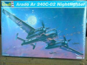 NIB Revell Korea 1:72 1996 kit 4824 Arado Ar 240c-02 nightfighter sealed box