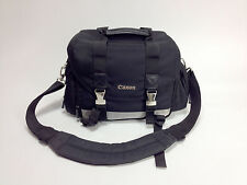 Canon 200DG Digital DSLR Camera Lens Black Silver Shoulder Gadget Bag