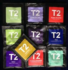"""T2 TEA ""  10 different filter+ envelope tea bags"