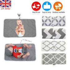 Newborn Baby Portable Foldable Washable Travel Nappy Diaper Changing Mat 60*35
