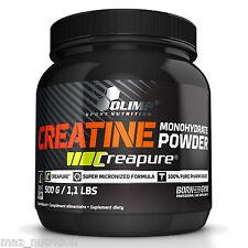 (38,88€/kg) Olimp Creatine Monohydrate 500 g, Creapure Kreatin Kraft + Bonus