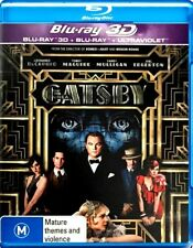 THE GREAT GATSBY 2D & 3D New Blu Ray + UV (2 Disc) LEONARDO DICAPRIO ***