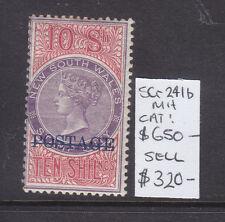 Nsw 10/ Revenue Ov/Pr Postage Sg 241b Mh