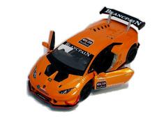Lamborghini Huracan LP620-2 Super Trofeo Car 1:36 Scale Kinsmart New ORANGE