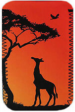 SUNSET GIRAFFA IN NEOPRENE CASE accoppiamenti Samsung Galaxy Tab A 2016, 7.0 4g & WIFI