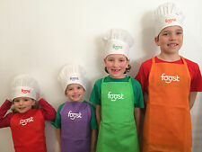 FOOST Kid's Aprons and Hats (Set of 8)