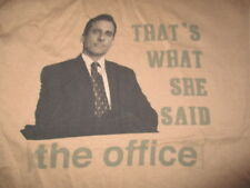 """The Office STEVE CARELL """"That's What She Said"""" (MED) T-Shirt"""