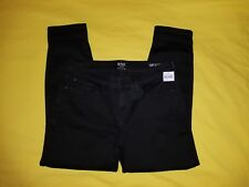 A.N.A. A NEW APPROACH, 10P SKINNY ANKLE WOMENS JEANS, PETITE, BLACK COLOR, NEW