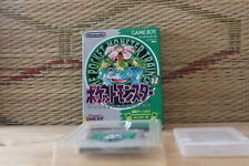 Pocket Monster Green w/box Japan Nintendo Gameboy GB Very Good Condition!