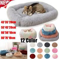 Haustier Hund Katze Beruhigend Bett Warm Weich Plüsch Runde Nest Bequem Schlafen