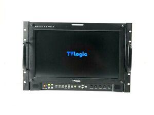"TV Logic Monitor LVM-172W, FSI CH Series Case 17"""