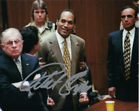 ROBERT SHAPIRO O.J. SIMPSON TRIAL LAWYER SIGNED AUTHENTIC 8X10 PHOTO 10 w/COA