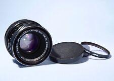 Carl Zeiss Jena DDR PANCOLAR 50mm f/1.8 Prime Lens * Excellent * M42 Screw Mount