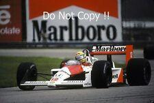 Ayrton Senna McLaren MP4/4 Brazilian Grand Prix 1988 Photograph 6
