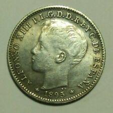 20 centavo coin 1895 Puerto Rico