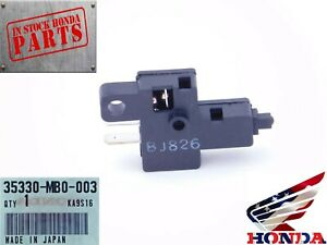 NEW GENUINE HONDA LEFT CLUTCH LEVER SWITCH ASSEMBLY (FITS MANY MODELS)