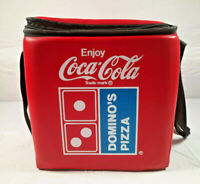 Dominos Pizza & Coca Cola Insulated Bag Red with Straps