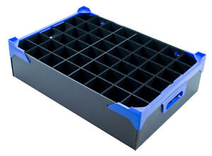 Storage Box for Shot Glasses - 48 Compartments - H120 x D54mm