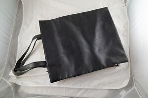 Helmut Lang Archive Black Leather Tote Bag
