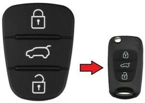 Kia Ceed Rio Picanto Sportage Sorento Remote Key Fob Rubber Pad Replacement