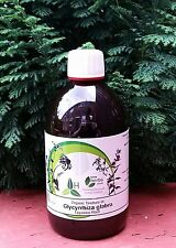 Licorice Root (Glycyrrhiza glabra) 1:3 Ratio - 500ml Organic Tincture