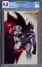 DETECTIVE COMICS #1027 - CGC 9.8 - COIPEL BATMAN AND HARLEY VARIANT - 3730731018
