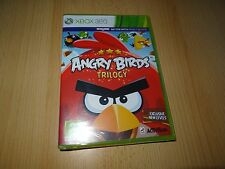 Angry Birds Trilogy for Xbox 360 NEW SEALED pal