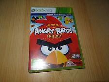 Angry BIRDS TRILOGY PER XBOX 360 NUOVO SIGILLATO