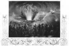Peninsular War SIEGE OF BADAJOZ SPAIN Duke Wellington ~ 1853 Art Print Engraving