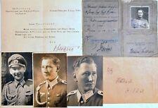 WW2 GERMAN WEHRMACHT DRIVER LICENSE