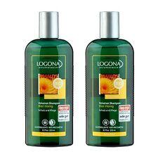 2 x LOGONA Organic Honey Volume Shampoo 8.5oz,250ml Haircare Shampoo #11968_2