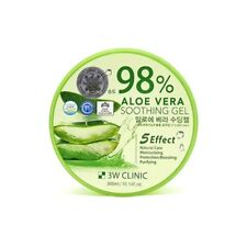 3W CLINIC 98% ALOE VERA Soothing Gel Relax Moisture 300g New Korean vee